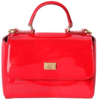 Dolce & Gabbana Sicily Patent Leather Top Handle Bag