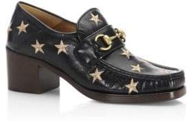 Gucci Vegas Star Leather Loafers