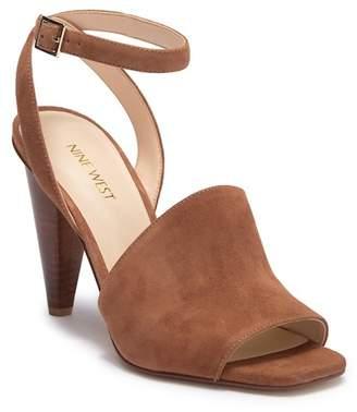Nine West Quilty Cone Heel Sandal