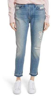 Frame Re-Release Le Original Raw Edge High Waist Jeans