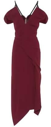 Roland Mouret Cotness crêpe dress