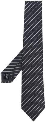 Giorgio Armani diagonal stripe tie