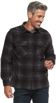 Croft & Barrow Men's Arctic Fleece Shirt Jacket