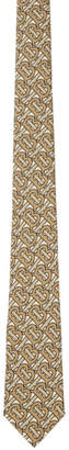 Burberry Beige Manston Logo Tie