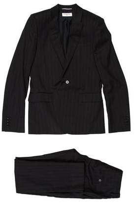 Saint Laurent Virgin Wool Two-Piece Suit