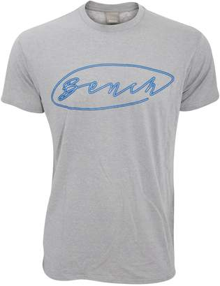 Bench Mens Form Short Sleeve Printed T-Shirt (Extra Large) (Grey)