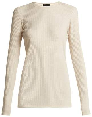 ATM Ribbed jersey long-sleeved top