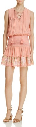 RahiCali Rosy Lace-Up Dress $128 thestylecure.com