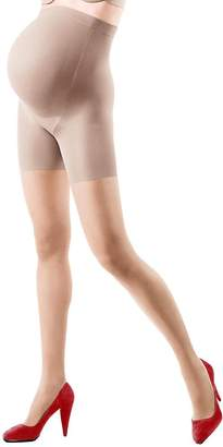 Spanx ASSETS Red Hot Label by Assets Womens Maternity Supportive Pantyhose Tan