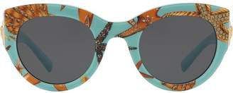 Versace Eyewear Tribute printed sunglasses