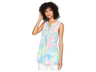 Lilly Pulitzer Sleeveless Sarasota Top