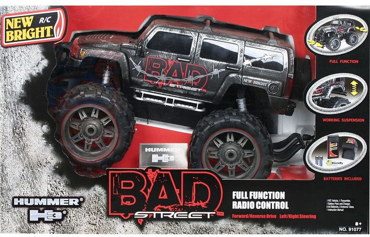 Hummer Bad street 1:10 rc h3 by new bright