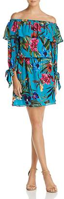 Parker Alexis Off-the-Shoulder Floral Dress