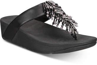 FitFlop Jive Treasure Flip-Flop Sandals Women Shoes