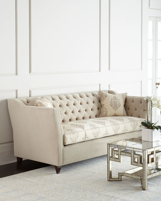 Haute House Couture Tufted Sofa