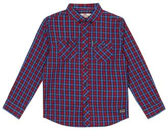 Ben Sherman Boys' Red Checked Shirt