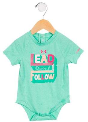 Under Armour Girls' Lead Don't Follow All-In-One