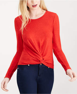 Maison Jules Twist-Front Top