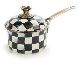 Mackenzie Childs MacKenzie-Childs Courtly Check 1-Quart Saucepan