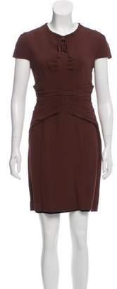 Burberry Sleeveless Mini Dress