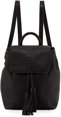 Tory Burch McGraw Pebbled Leather Backpack