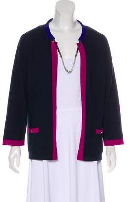 Chanel Cashmere Colorblock Cardigan