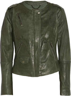 Muubaa Ramu leather jacket $575 thestylecure.com