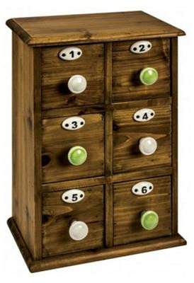 PD Global 6 Drawer Cabinet