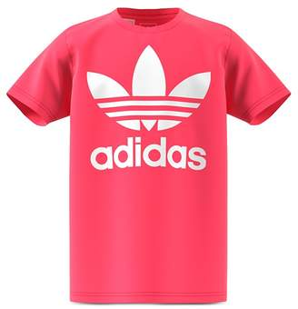 adidas Girls' Logo Tee - Big Kid