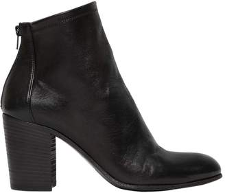 Strategia 80mm Leather Ankle Boots