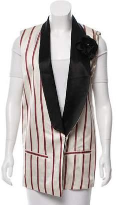 Lanvin 2017 Striped Vest w/ Tags