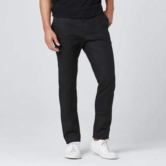 DSTLD Skinny-Slim Trouser Pants in Black