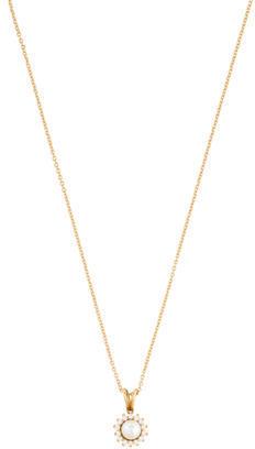 Tiffany & Co. Pearl & Diamond Pendant Necklace $1,245 thestylecure.com