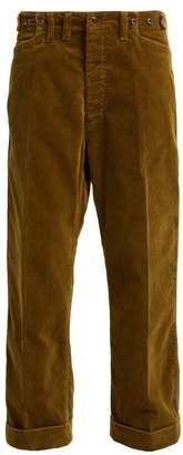Chimala Cinched Waist Corduroy Trousers - Womens - Beige