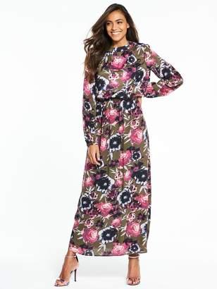 Vila Astha Long Sleeve Maxi Dress