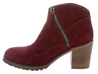Belstaff Suede Ankle Boots $245 thestylecure.com