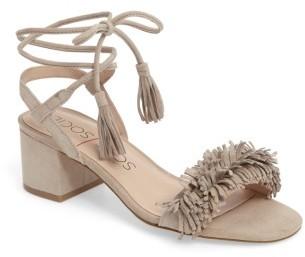 Women's Sole Society Sera Wraparound Fringe Sandal $89.95 thestylecure.com