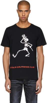 Stolen Girlfriends Club Black Grateful Dead Logo T-Shirt
