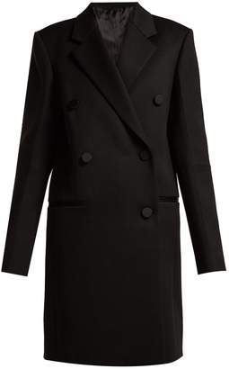 Helmut Lang Double-breasted wool-blend coat