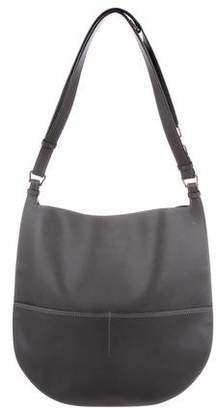 Valextra Leather Weekend Hobo
