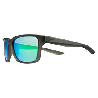 Nike EV1004-315 Spree M Frame Grey with Ml green Flash Lens Sunglasses