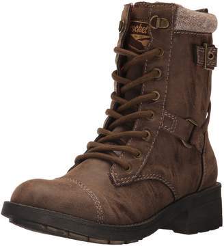 Rocket Dog Women's Thunder Heirloom Pu/Canyon Falls Cotton Ankle Bootie
