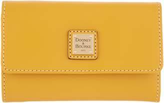 Dooney & Bourke Vachetta Leather Flap Wallet - Beacon