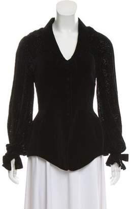 Thierry Mugler Vintage Velvet Jacket
