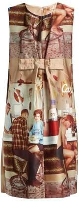 No.21 No. 21 - Printed Sleeveless Dress - Womens - Beige Multi