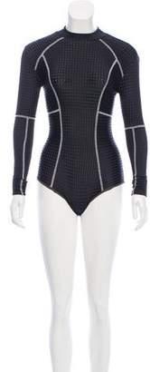 Acacia Long Sleeve Mesh Swimsuit w/ Tags