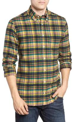 Hunter Gitman Regular Fit Plaid Flannel Shirt