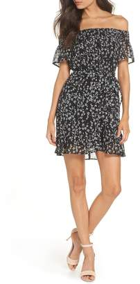 Bardot Daria Off the Shoulder Minidress