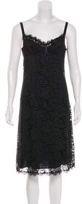 Rebecca Taylor Midi Lace Dress
