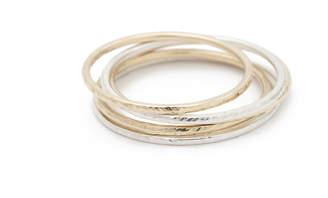Jack + G Hammered Rings